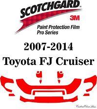 3M Scotchgard Paint Protection Film Clear Pro Series Kits 2014 Toyota FJ Cruiser