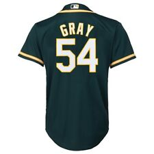 Majestic Athletic Youth Oakland Athletics Sonny Gray Replica Jersey Large c72985e1c