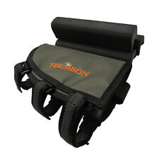 Tourbon Rifle Butstock Holder Cheek Piece Rest Pad Ammo Pouch Adjustable Height