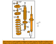 HONDA OEM 2007 Accord Rear Suspension-Strut Assembly Right 52610SDBA15