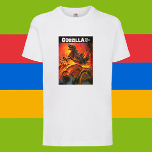 Godzilla Japanese Monster King Kong Kid Birthday Holiday Gift Unisex T-Shirt 171