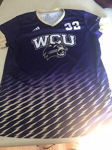 western carolina university Game Style Womens Jersey Medium Adidas Soccer