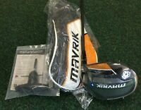 Callaway Mavrik 10.5 Degree Driver R/H With a UST Helium 4F3 Regular Shaft B/N