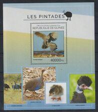 E405. Guinea - MNH - 2014 - Nature - Animals - Birds - Bl.