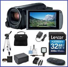 Canon VIXIA HF R80 Camcorder 32GB 10-Piece Bundle - Canon USA Authorized Dealer!