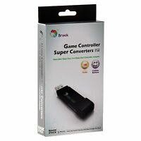 Brook Xbox 360 to Xbox One Console Gaming Converter Controller Adapter Black