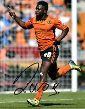 NOUHA DICKO - Signed 10x8 Photograph - FOOTBALL - WOLVES