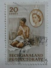 BECHUANALAND PROTEOTORATE NOW REPUBLIC of BOTSWANA STAMP - 20 CENTS