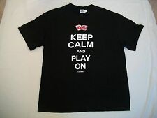 Keep Calm And Play On Carnival Adult T Shirt - Size XL