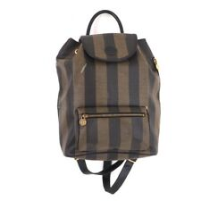 Vintage Fendi Large Stripe  Backpack.NFV5326