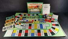 Totopoly Waddingtons Vintage 1930's Horse Racing Game Metal Horses Complete