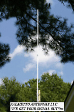 220 MHz 1.25 CM VHF BASE STATION REPEATER ANTENNA 4.5 DB GAIN FREE SHIPPING!!!