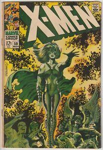 X-Men #50 GD/VG 3.0 2nd appearance Polaris, Jim Steranko cover/art