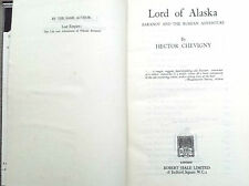 Lord of Alaska Baranov and the russian adventure - Hector Chevigny