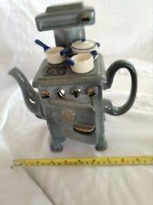 CARDEW NOVELTY COLLECTABLE LGE TEAPOT WARTIME STOVE  PERFECT CONDITION