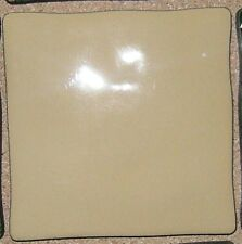 76 Pz  Tavolozza crema 10x10cm rivestimento bagno cucina ceramica mattonella