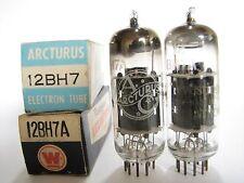 Pair 1960+/- CBS-Hytron 12BH7A tubes - TV7B tests @ 78/66, 61/76, min:30/30
