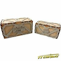 TTCombat - Sci Fi Scenics - SFU010 - Large Crate. great for Infinity