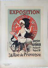 """CHERRET JULES """"EXPOSITION DE TABLEAUX ET DESSINS DE A. WILLETTE """""""
