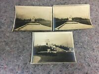 Three Early Vintage Photos of William McKinley's Tomb in Canton, OH
