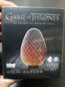 Game of Thrones: Dragon Egg 80pc 3D Jigsaw Puzzle