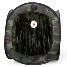 Target Box Paintball Tactical Shooting Tent Portable Camouflage Canvas Training