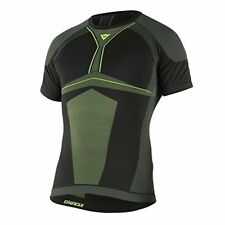 Dainese D-core Dry Tee SS Xs/s Schwarz/gelb