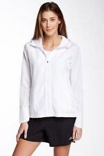 New Balance Susan G. Komen Hooded Walking Jacket White Large NWT