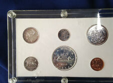1962 Canada Silver Proof-Like Set of 6 Coins in Capital Lucite Holder E4417