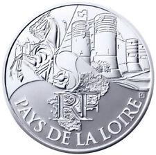 PIECE 10 € en  ARGENT - Euro de nos régions : Pays de la Loire 2011  ENVOI SUIVI