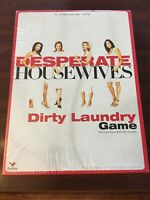 New & Sealed 2005 Desperate Housewives Game Dirty Laundry Adult Party Board Game