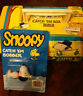 VINTAGE Zebco PEANUTS SNOOPY Fishing Catch'em Tackle Box and Bobber NEW