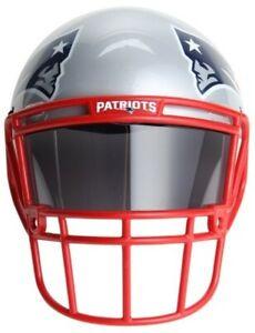 NFL NEW ENGLAND PATRIOTS FAN MASK FOOTBALL HELMET NEW CAP HAT FANFAVE MAN CAVE