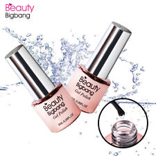 Esmalte de Uñas Nail Arte Transparente Pintauñas Gel UV Decoración Capa Base