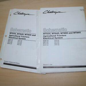 CATERPILLAR CHALLENGER MT835 MT845 MT855 MT865 Electrical Schematic Manual cat
