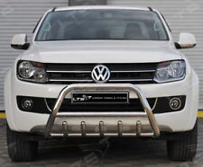 Vw amarok chrome essieu nudge a-bar en acier inoxydable, bull bar 2010-2015