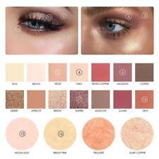 18 Color Matte Earth Pigment Eyeshadow Powder Pallete Makeup Popular UK