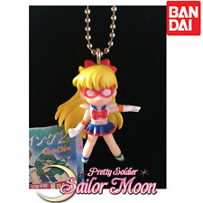GASHAPON SAILOR MOON -SAILOR V - 20th Anniversary Swing Keychain Bandai