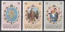 Vanuatu Nr. 606-608** Royal Wedding Prince Charles - Lady Diana