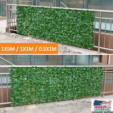 196'' Ivy Fence Screen Artificial Decorative Leaves Indoor Outdoor Home Privacy