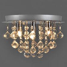 [lux.pro]® Kristall Deckenleuchte 3-Flammig G9 [20cm x Ø28cm] Deckenlampe Lüster