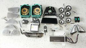 BMW 5 7 Series Bowers&Wilkins Speaker ID6 System A SET with Amplifier CD Player