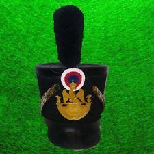 Eliminated Protagonist Napoleon Tschako Grenadier Pickaxe Shako Soft Cape