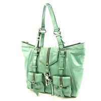 Francesco Biasia Tote bag Green Woman unisex Authentic Used T4764