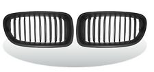 "Front Kidney Grille Matte Black For BMW F10/F11/F18, 5 Series ""2010-2015"""