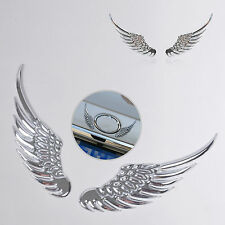 3D Angel Wings Car Auto Window Bumper Fender Body Badge Emblem Stickers Decals