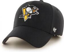 Forty Seven 47 Brand les penguins de Pittsburgh Curved Visière velcroback CAP