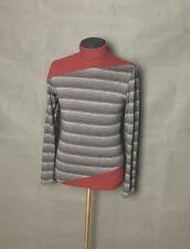 Balenciaga Paris Men`s Authentic Wool Gray Turtleneck Sweater Size L
