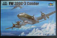 TRUMPETER 01637 - Focke Wulf FW 200C-3 CONDOR- 1:72 - Flugzeug Bausatz Model Kit