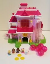 Squinkies Barbie Dream House Play Dispenser tokens 5 Squinkies Pink Bubbles Lot